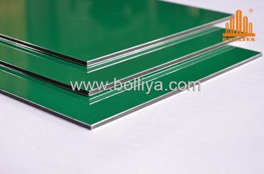 BOLLIYA 10mm flammable aluminum composite panel for cladding